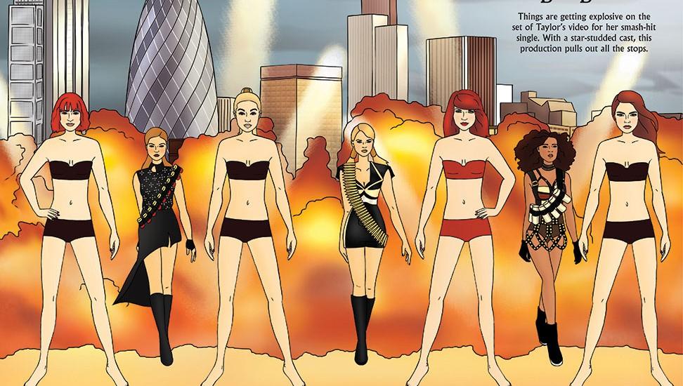 Dress Up Taylor Swift - Bad Blood