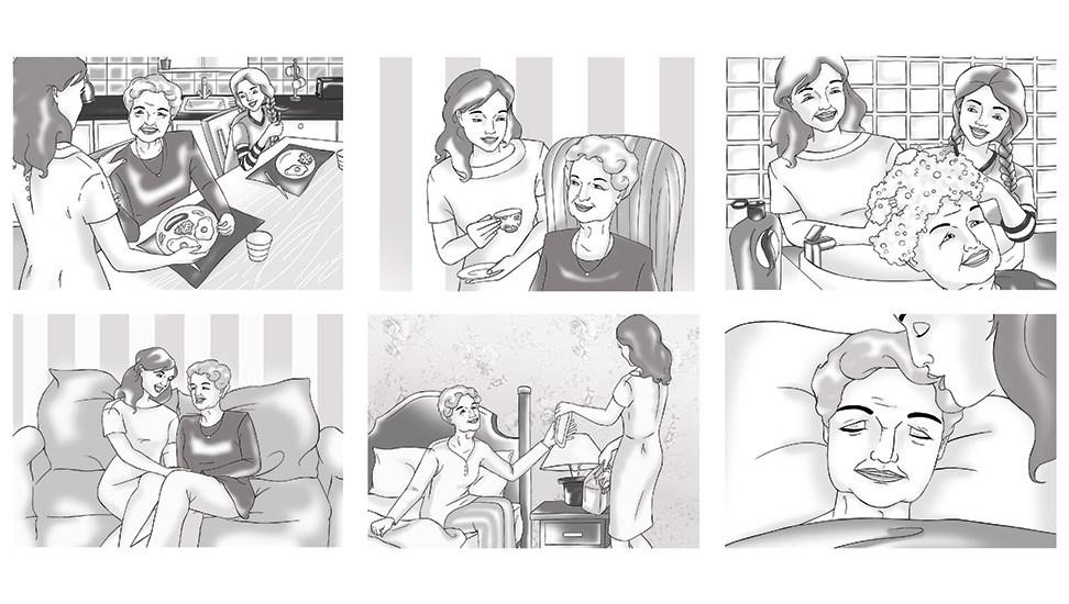 Tena Storyboard